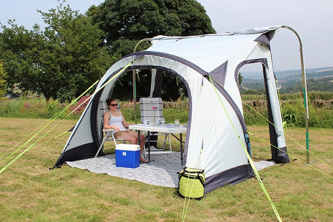 Outdoor Revolution Oxygen Speed 1 Inflatable Air Frame Awning Awnings Caravan Motorhome Campervan